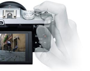 富士フィルムX-M1操作性
